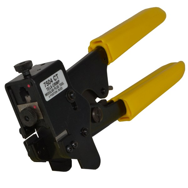 #7504 CT - RJ22 4-Position Modular Plug Crimp Tool