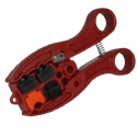 #8643  QS - Quad-Stripper > RG6/59 Stripper & Cutter
