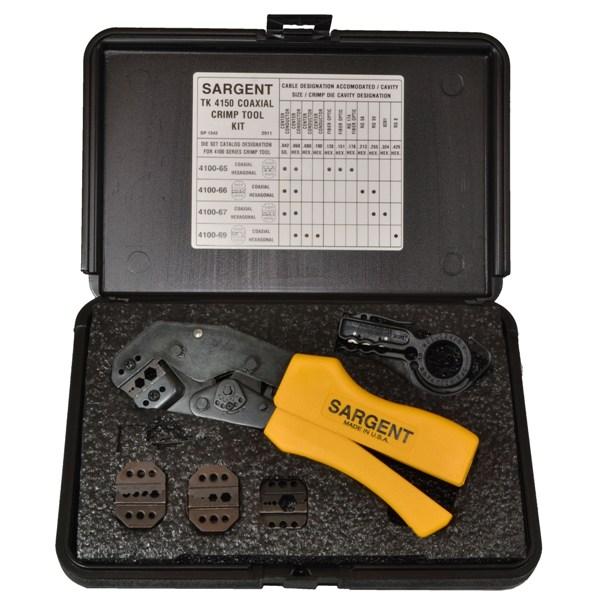 Tk 4150 Coax Kit Super Crimp System Sargent Tools